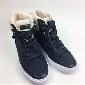 Tommy Hilfiger Faux Fur High Top Sneaker